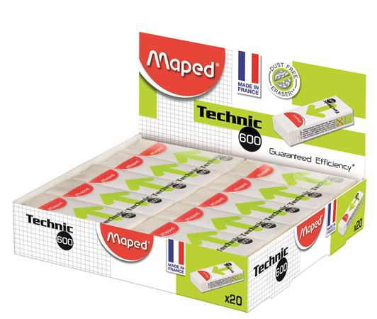 Maped technik 600 radír